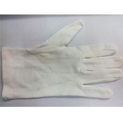 汗布手套 品管手套 手指部位加厚