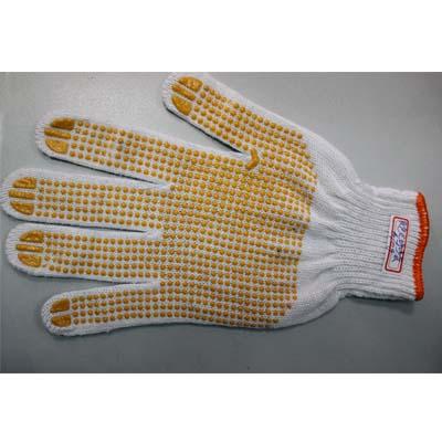 黄色点珠纱手套