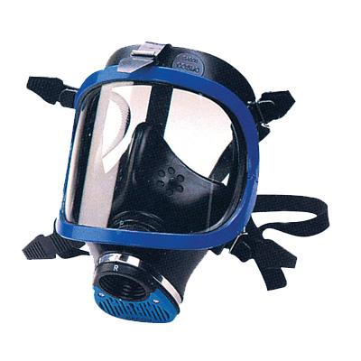 巴固 1710643 防毒面具蓝色全面罩
