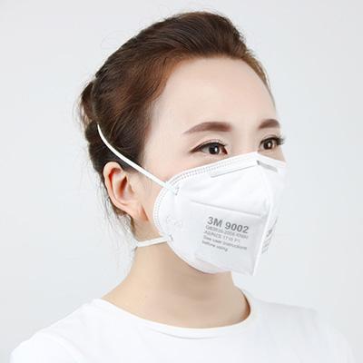 3M 9002 折叠式防尘口罩(头带式)|口罩