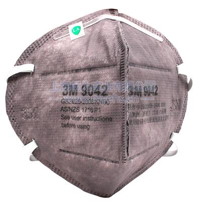 3M9042A有机蒸气异味及颗粒物防护口罩