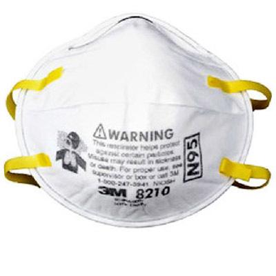 3M8210 N95防尘口罩