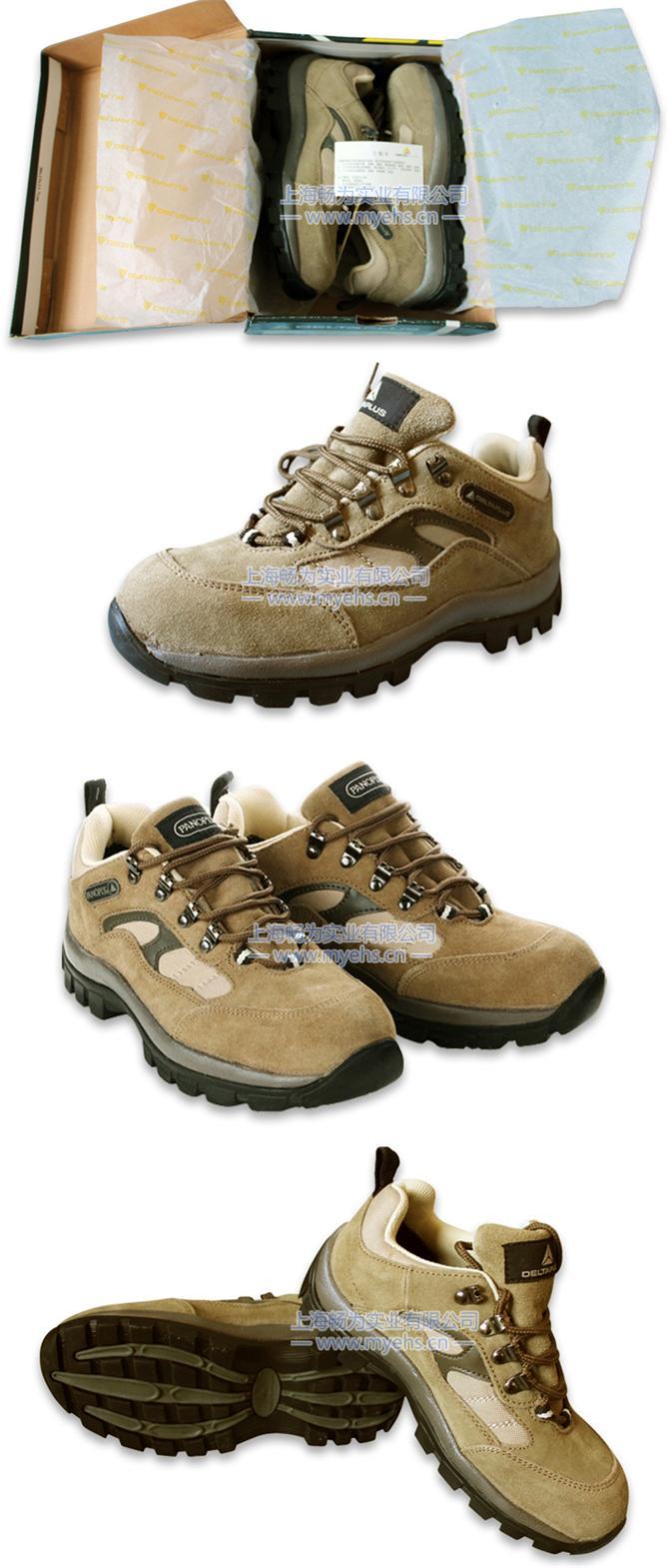 代尔塔301305 毛面牛皮安全鞋 产品展示