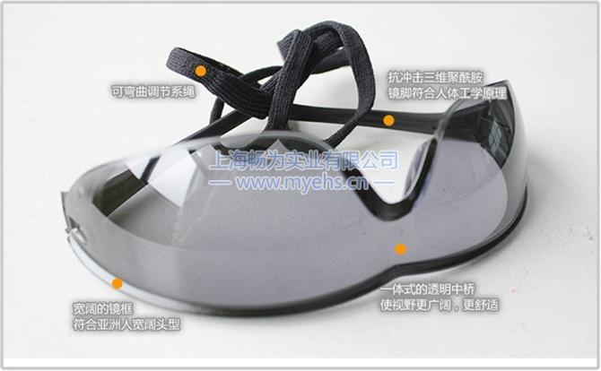 巴固1005986 Millennia Sports运动款防护眼镜 产品特点