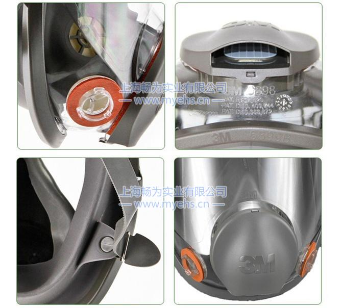 3M6800 防毒面具 产品细节展示