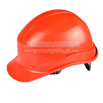 代尔塔102011抗紫外线高密度聚乙烯PE安全帽