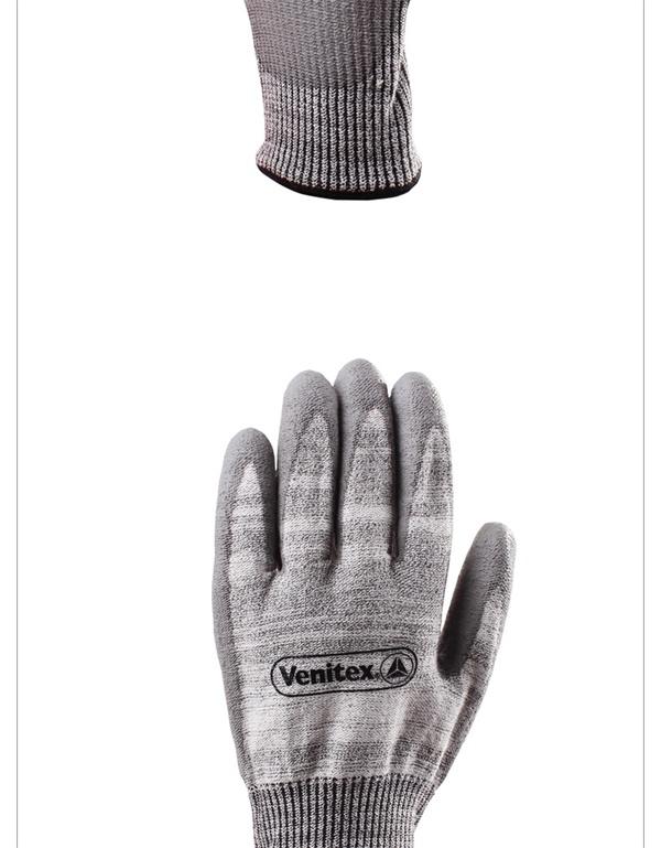 代尔塔202011 半聚氨酯涂层防切割手套