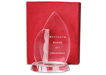 霍尼韦尔2011最佳进步奖