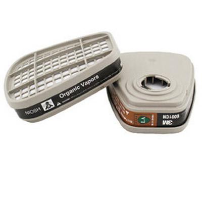 3M6001有机气体防毒面具滤毒盒